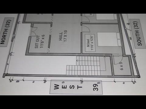 32-×-40-north-east-face-corner-house-plan-map-naksha-design