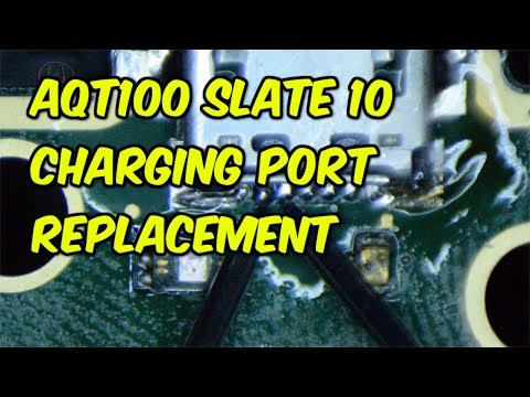 Sprint Slate 10 AGT100 Charge Port Replacement
