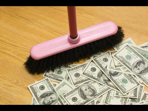 BRING MONEY INTO YOUR LIFE:MONEY FLOOR WASH