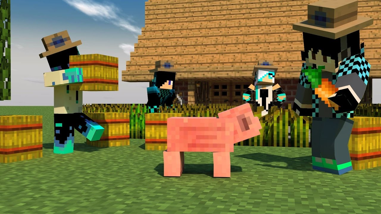 Minecraft PE Addon Do Villager Humanoid Villager Com Skin - Villager skin fur minecraft pe