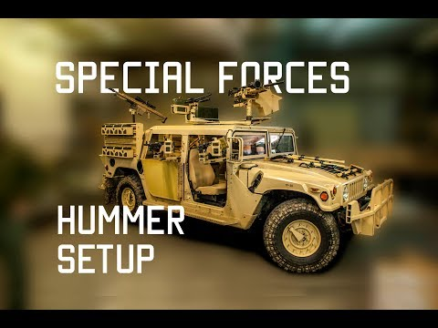 How Special Forces setup their Hummer | Mount Weapons | Tactical Rifleman