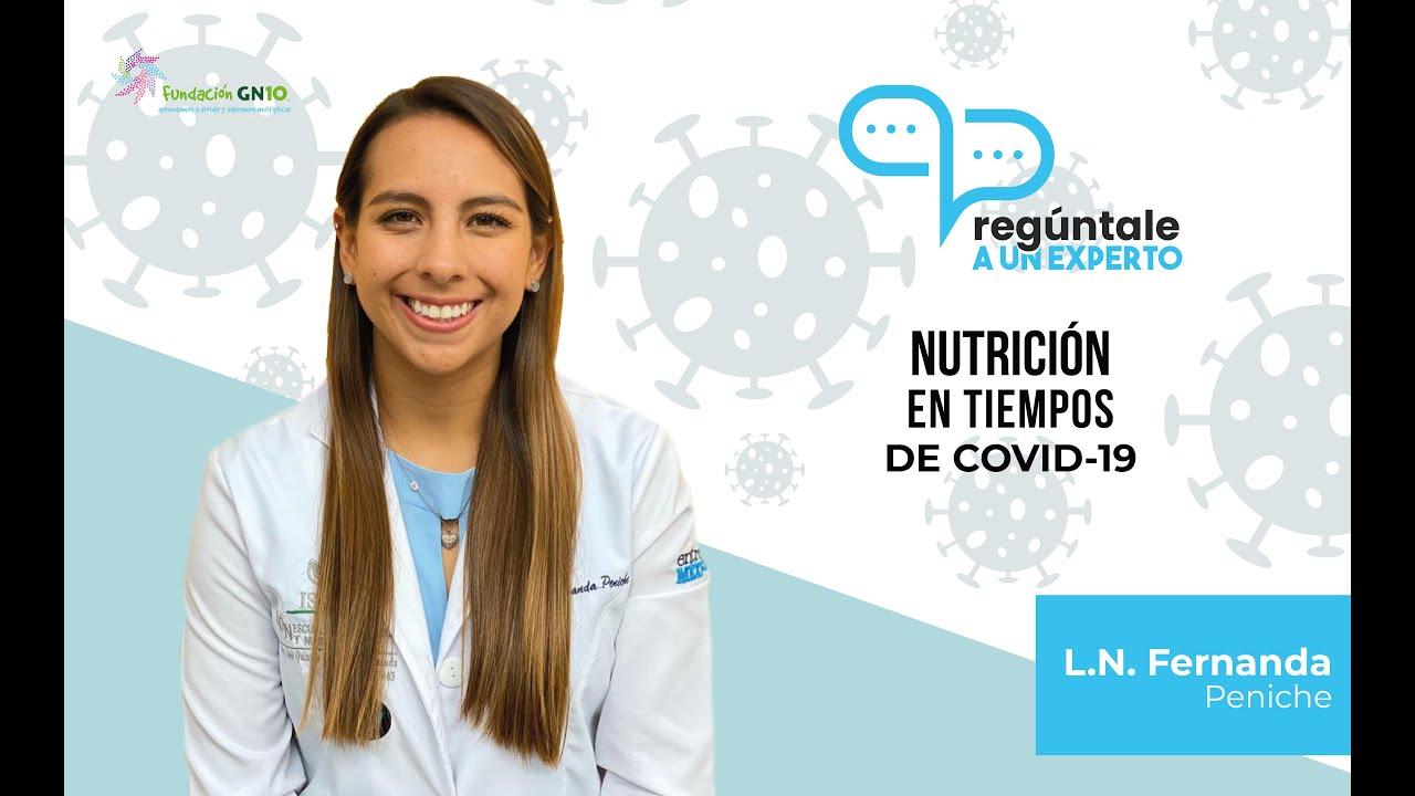 Nutrición en Tiempos de COVID-19
