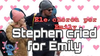 OMG STEPHEN AMELL TALKS ABOUT EMILY RETURN FOR SERIE ARROW - LEGENDADO