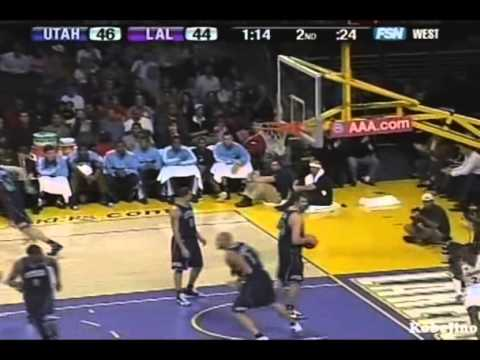 2007-08 Season 2007 11 4 Kobe vs Jazz