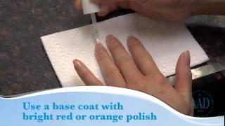 Manicure and pedicure safety video