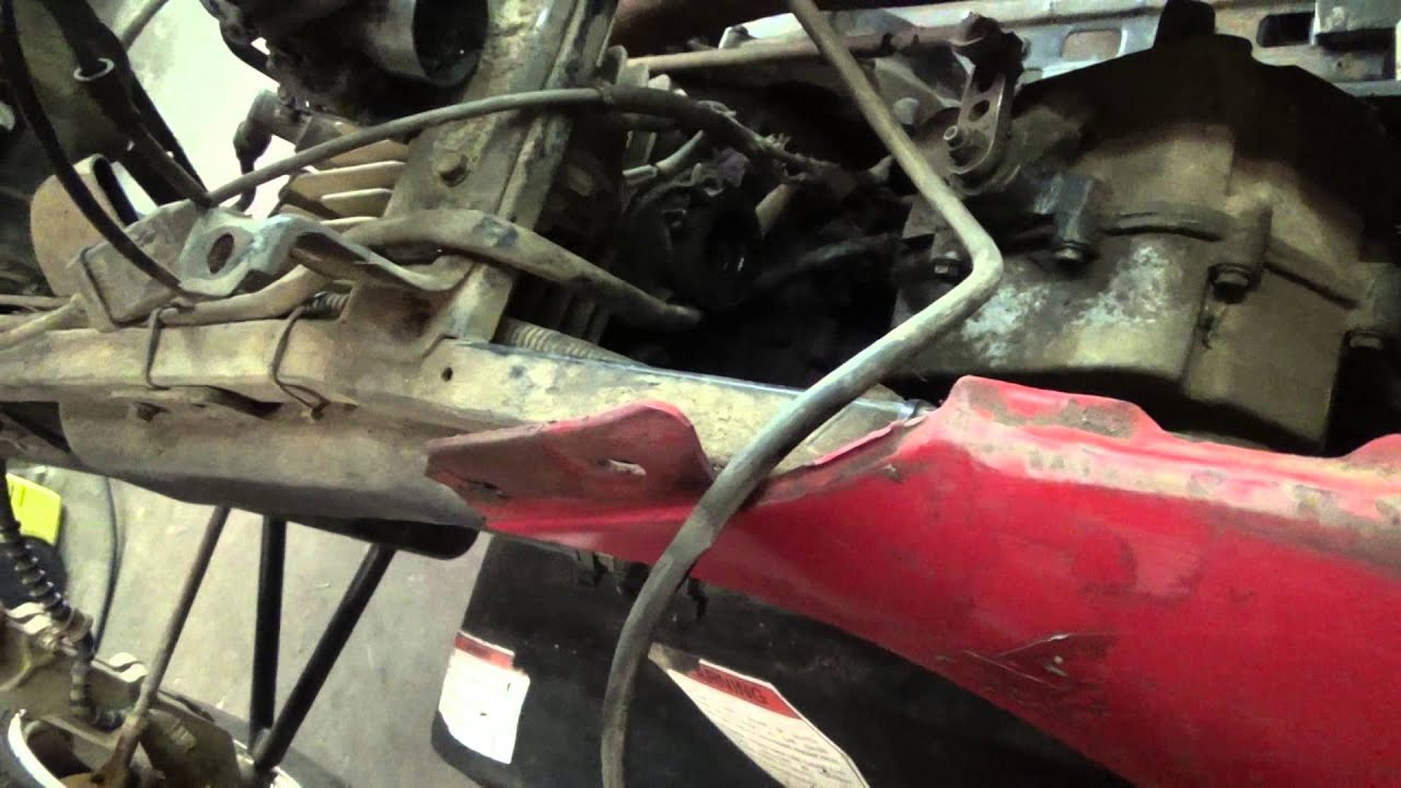1996 polaris trailblazer 250 carburetor removal and hose setup [ 1280 x 720 Pixel ]