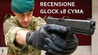 SOFTAIR Unboxing Glock 18 cyma elettrica (black) + prova di tiro!