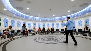Man City stadium and tunnel club tour