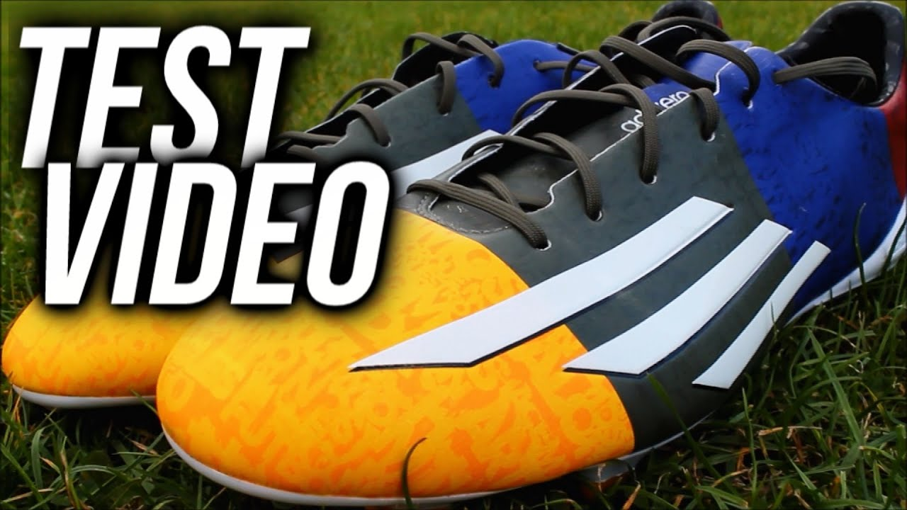 db90a6ee0 New 2014 Lionel Messi boots TEST - Adidas F50 Adizero FG - Messi ...