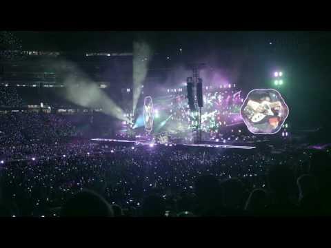 Coldplay @ Gillette Stadium Foxboro July 30 2016 - Paradise