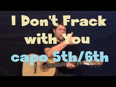 I Don't F**K With You (Big Sean) Easy Guitar Lesson How to Play Tutorial