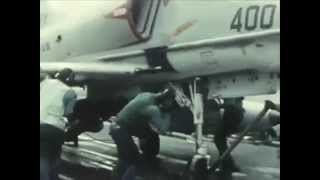 US Navy ATTACK AIRCRAFT CARRIERS: READY ON ARRIVAL (1966) - CharlieDeanArchives / Archival Footage
