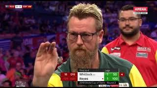 2018 World Cup of Darts Round 2 Australia vs Spain