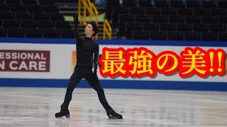 羽生結弦が世界選手権の公式練習に登場!!王者の黒い子という最強の美を世界中が待っていた!!#yuzuruhanyu 羽生結弦 動画 1