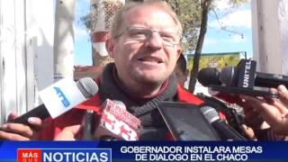 GOBERNADOR INSTALARA MESAS DE DIALOGO EN EL CHACO