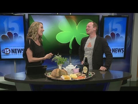 Ireland Food, Drink and Culture 5pm Interview 3-16-15