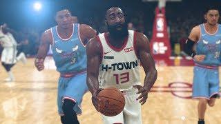 NBA 2K20 Houston Rockets vs Chicago Bulls Full Game | NBA City Jerseys (NBA 2K20 Gameplay)