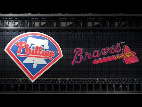 Atlanta Braves vs Philadelphia Phillies Live Play by Play Reaction