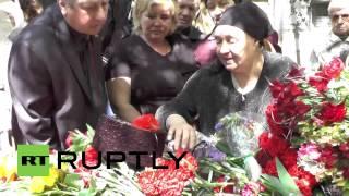 Ukraine: Odessa farewells Trade Union House blaze victim