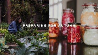Preparing for autumn 🍁🍂 fermenting, preserving & decluttering