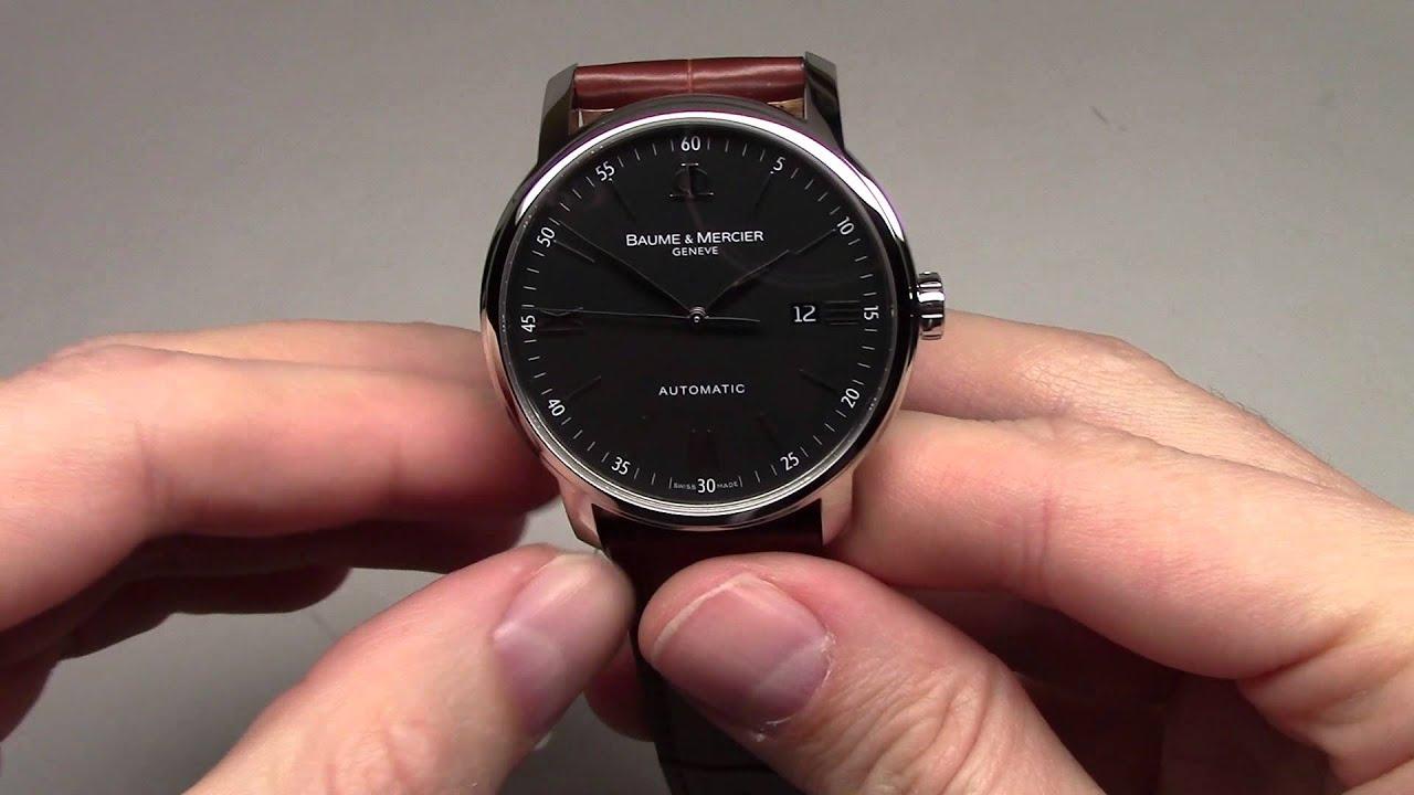 8ac73d9e2dfead Baume and Mercier Classima Executives Men's Watch Review Ref: MOA08590