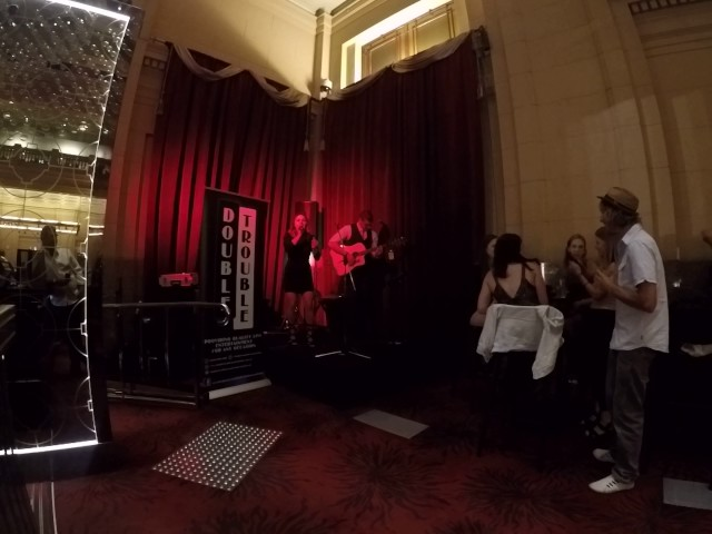 Sunday Morning Covered By Double Trouble Live! @ The Adelaide Casino Chandelier Bar