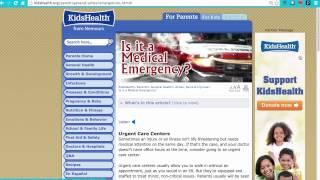 Evaluating Health Websites
