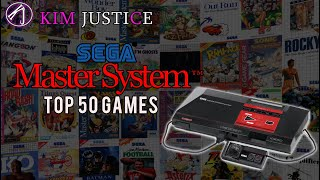 Kim Justice's Top 50 Sęga Master System Games of All-Time