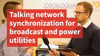 Talking network synchronization for broadcast and power utilities
