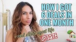 How I got 6 Deals - Real Estate Agent Update