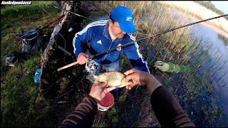 Весенняя рыбалка с берега