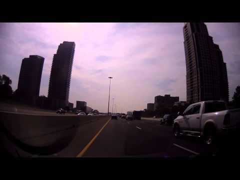 Drive into Toronto