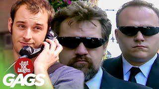 Secret Agents Pranks  Best of Just For Laughs Gags