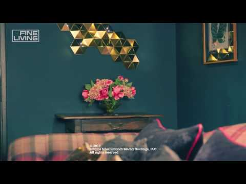 Fine Living Channel - How to create a cozy cocoon in a low ceiling room