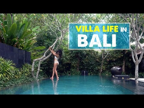 LUXURY VILLA LIFE IN BALI! Kayumanis Private Estate & Spa | Honeymoon Vlog 02