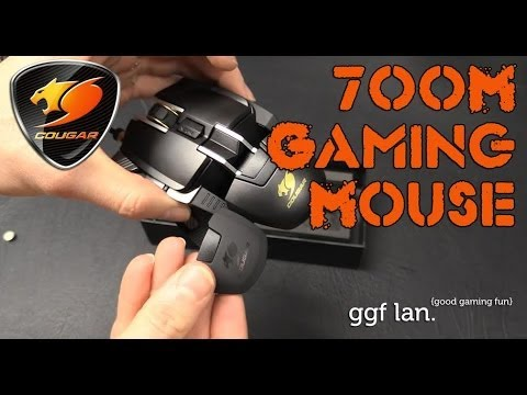 07ae33f543c 0078 - Cougar 700M Gaming Mouse - A mouse not to be missed - YouTube