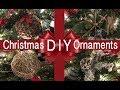 Rustic DIY Ornaments on a Budget