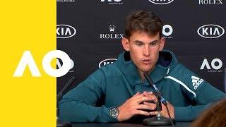 Dominic Thiem press conference (1R) | Australian Open 2019