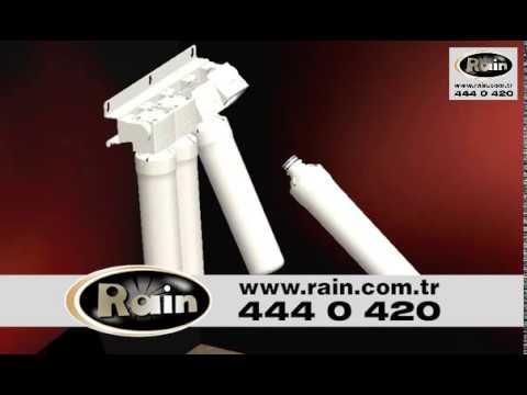 Su Arıtma Filtresi / Twist Kolay Filtre Değişimi Rainwater