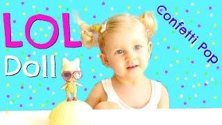 LOL Confetti Pop Surprise Doll Unboxing SPF Q.T
