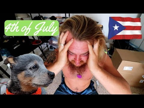 4th of July Ruined my Plans in Puerto Rico || Vlog #186 of 365