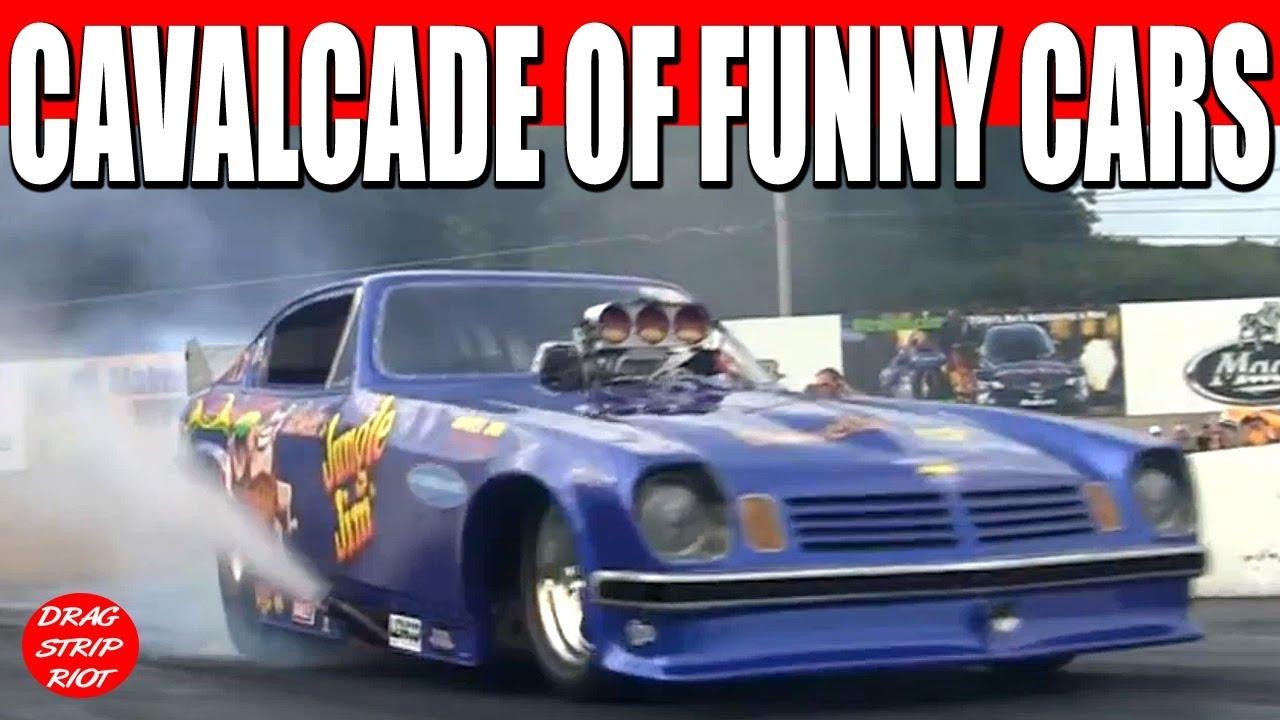Nitro Nostalgia Funny Car Drag Racing Cavalcade Of Funny Cars
