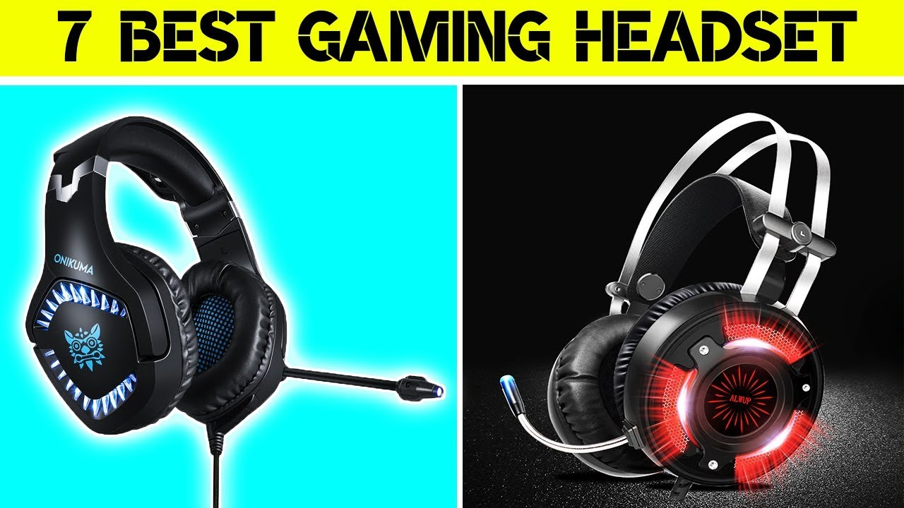 7 Best Gaming Headset On Aliexpress | Best Product