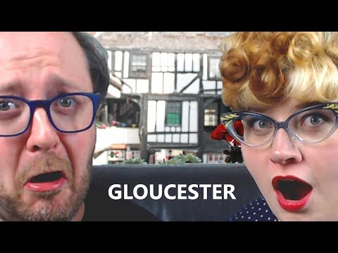 Our Bizarre Visit to Gloucester, England