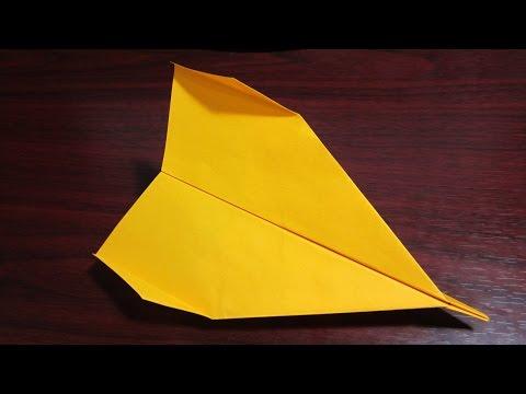 Как сделать самолетик из бумаги который долго летает|Tresh|