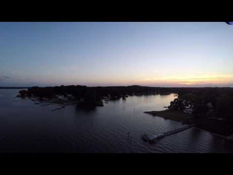 Flying Solo 3DR Over The Magothy River In Pasadena Maryland