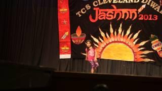 Anoushka Dubey TCS jashn 2013 cleveland performance