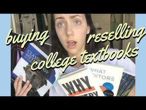 How I Buy And Sell My College Textbooks