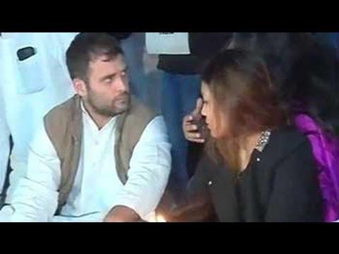 Rahul Gandhi, in rare gesture, joins student protestors