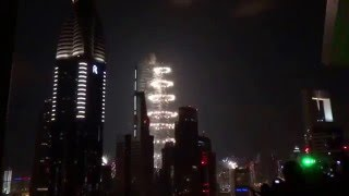 New Years Eve in Dubai 2012 Level 43